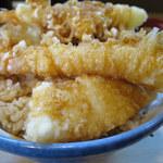 はちまき - 天丼 1,000円 ※ご飯大盛り無料