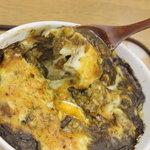 チャミのカレー - [焼きカレー]チーズと卵でマイルドな味に変身。くせになります。