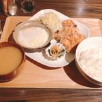 カフェ オレンジ - ◆オレンジAセット 1,080円 ◆ごはん大盛り 108円