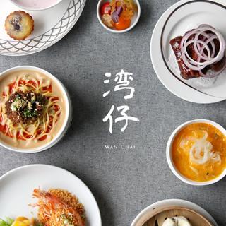 九州の旬の食材を使用した本格的広東料理が楽しめるコース料理