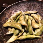 すき焼き炭火居酒屋 北斗 - オリーブ香る炭火枝豆