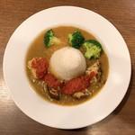 105774205 - 富士山こども野菜カレー