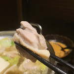 名古屋 地鶏個室居酒屋 尾張 - 引き締まったお肉でした
