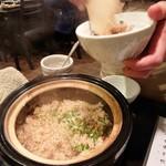 禅紫 - 土鍋御飯(ホタルイカ)