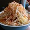 ラーメン二郎 - 料理写真:ラーメン・ヤサイニンニクトウガラシ(700円)