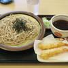 名代 箱根そば - 料理写真:海老天ざる540円