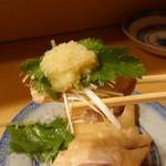 105784227 - 白切鶏  (蒸し鶏)