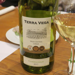 フレンチ食堂 iTToku - Terra Vega CHARDONNAY(テラベガ シャルドネ)2017 白ワイン チリ