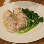 フレンチ食堂 iTToku - イトヨリ鯛の白ワイン蒸し、柚子風味のクリームソース
