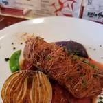 フランス食堂 ル ブリアン - 鶏せせりのカダイフ包み