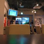 カフェ・フラッティ - テレビではスポーツ観戦