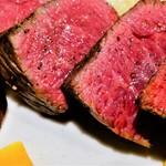 レストラン ボンジョリーナ - 国産牛ランプのステーキ