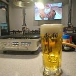 105793300 - 生ビールとテレビジョン