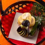日本料理 空海 - 昼懐石Aプランの一例