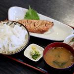 105796563 - サバの明太子焼き定食