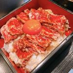 焼肉割烹 ひととき - 赤身レアステーキ