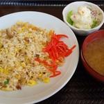 お食事処 ばんり - 料理写真:チャーシュー入りチャーハン