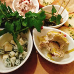 肉バル イノシカチョウ - タパス5種盛り