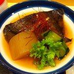 大手先 - 煮魚アップ