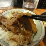 東京チカラめし - 焼き牛丼(並盛り)