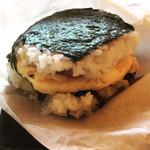 さぼーる - ポークたまごおにぎり(高菜)  ¥300-