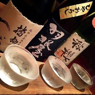 【日本酒】全国蔵元からこだわりの地酒20種以上