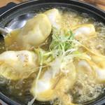 炊き餃子 ~スパイスカレースープ~