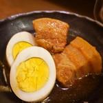 虎っき - 味の染み込んだ豚の角煮♪