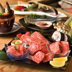 和火一 - 料理写真:季節の盛り合わせコース