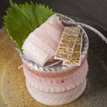 和歌山麦酒醸造所 三代目 - 太刀魚のお造り