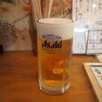 もみじ - 生ビール