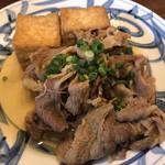 105832031 - ふーみん(牛肉と揚げ豆腐のオイスターソース煮)