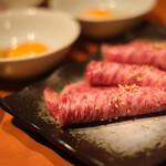 ヤキニクバル 韓の台所 - 近江牛リブシン