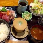 海の台所 大波屋 - 刺身定食 ¥1,000(税込)