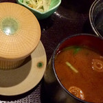 海の台所 大波屋 - 茶碗蒸しの蓋を取り忘れ