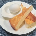 カフェ・ド・キャビン - 料理写真:モーニングA¥60