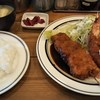 トラウト - 料理写真:洋食に味噌汁。味噌汁も旨かった。