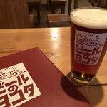 ビールのヨコタ - ブロンプトンエール pint 900円