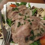 105843192 - 山形野菜と三元豚のスチーム