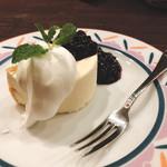 茶亭 羽當 - レアチーズケーキ