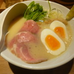 KYOTO MISO RAMEN KAZU - KYOTO(京都)+パーコー、半熟玉子トッピング