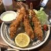 大成 - 料理写真:海老フライ定食(税抜き1280円)