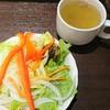 いきなり!ステーキ - 料理写真:スープとサラダのセット 350円