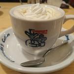 コメダ珈琲店 - 「ウインナーコーヒー」①