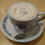 コメダ珈琲店 - 「ウインナーコーヒー」②