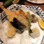 かめ福 - 天ぷら盛り合わせ