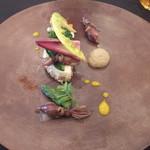 フランス料理 ルヴェ ソン ヴェール 橄欖 - 前菜