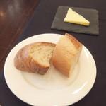 フランス料理 ルヴェ ソン ヴェール 橄欖 - パンとバター