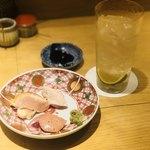 ヨシモリ - 前菜 三種