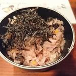 堂の浦 - 替飯の十五穀米